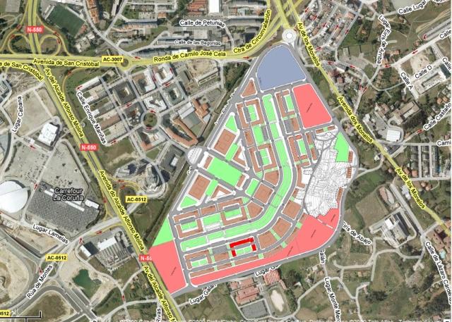 Ubicación parcela z-23 con callerejo (hacer click para ampliar)